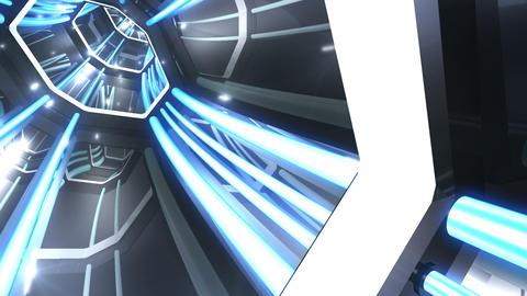 Tunnel tube SF B 04f 2 HD Stock Video Footage