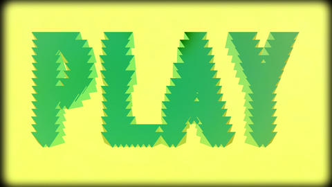 Play Stock Video Footage