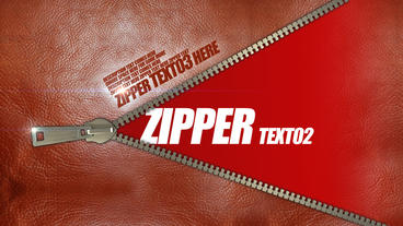 Zipper After Effects Template