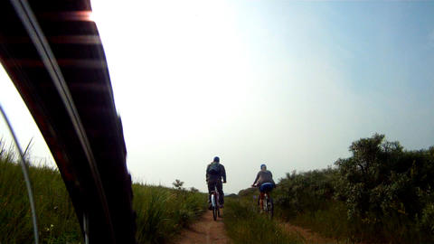 bicycle ride Stock Video Footage