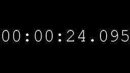 Countdown timer clock Stock Video Footage