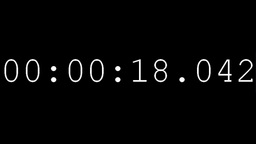 Countdown timer clock Animation