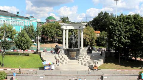 Emperor Alexander II Monument Footage