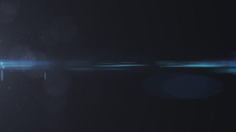 Lens Flares crossing of circle shape Stock Video Footage
