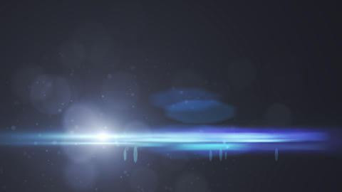 Lens Flares crossing of circle shape vertical Stock Video Footage