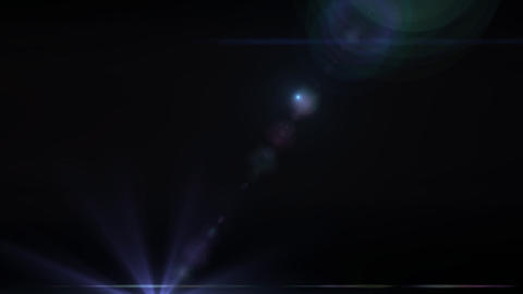 Lens Flares purple star vertical Stock Video Footage
