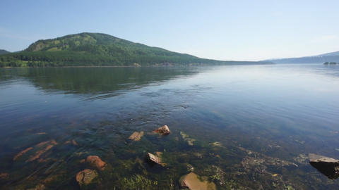 River Yenisei 05 Footage