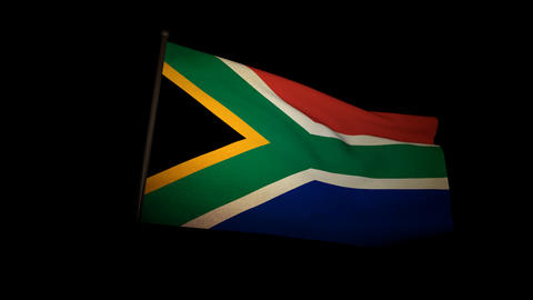 Flag South Africa 01 Animation