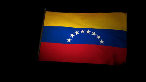 Flag Venezuela 01 Animation