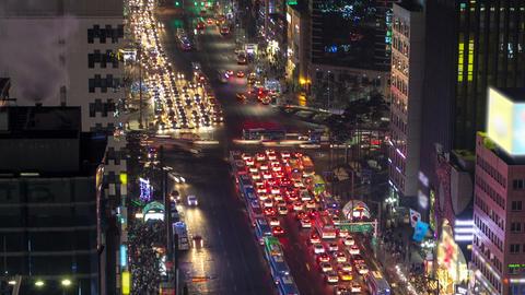 Seoul City 129 Zoom Footage