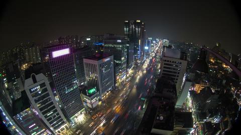 Seoul City 135 HD Stock Video Footage
