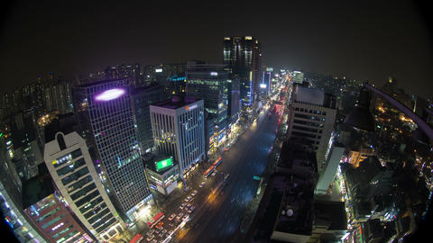 Seoul City 135 HD Stock Video Footage