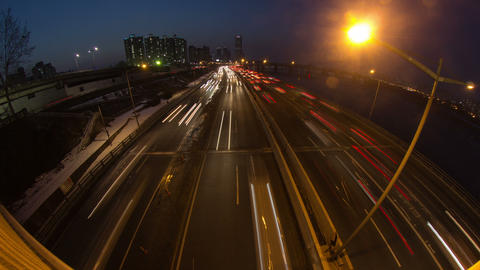 Seoul City 143 HD Stock Video Footage