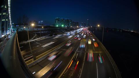 Seoul City 144 HD Footage