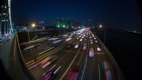 Seoul City 144 HD Stock Video Footage