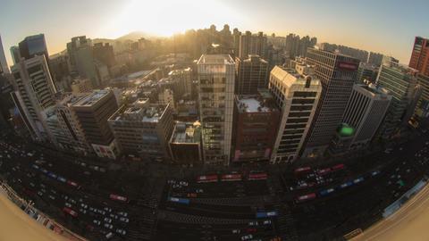 Seoul City 155 HD Stock Video Footage