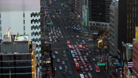 Seoul City 165 Zoom Footage