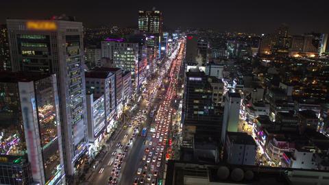 Seoul City 169 HD Stock Video Footage