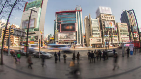 Seoul City 175 Zoom HD Stock Video Footage