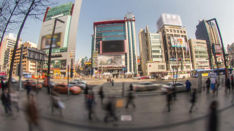 Seoul City 175 Zoom HD Stock Video Footage