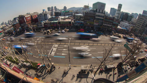 Seoul City 179 HD Stock Video Footage