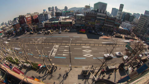 Seoul City 179 HD Footage