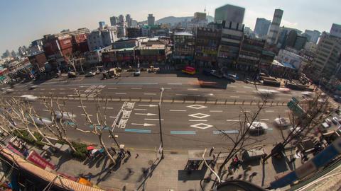 Seoul City 179 HD Stock Video Footage