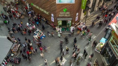 Seoul City 193 HD Stock Video Footage