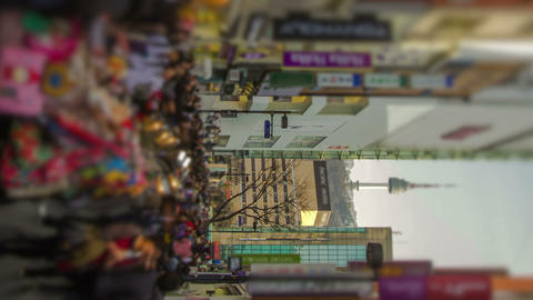 Seoul City 197 Zoom HD Stock Video Footage