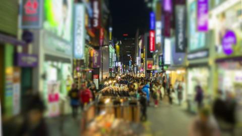 Seoul City 208 HD Stock Video Footage