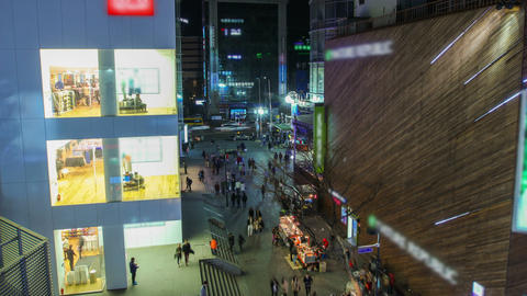 Seoul City 211 HD Stock Video Footage