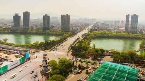 Seoul City 224 HD Stock Video Footage