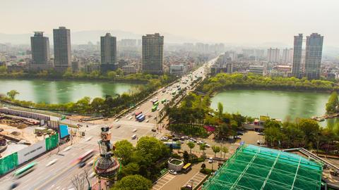 Seoul City 224 HD Footage