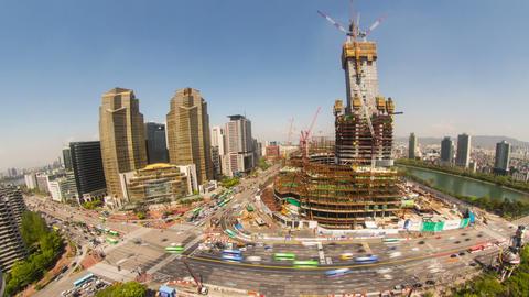 Seoul City 228 HD Stock Video Footage