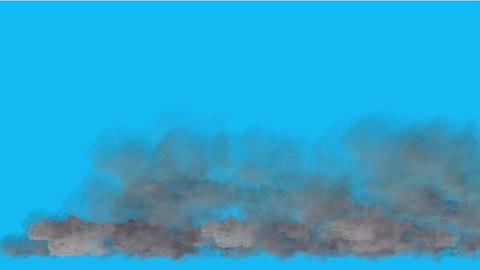 clouds in sky Animation