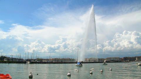 Jet d'eau - Geneva Footage
