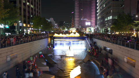 Seoul City 27 HD Stock Video Footage