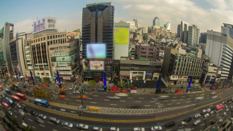 Seoul City 28 HD Stock Video Footage