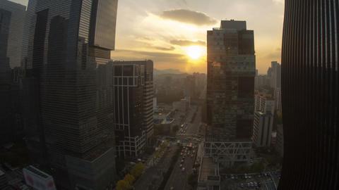 Seoul City 30 Zoom Footage