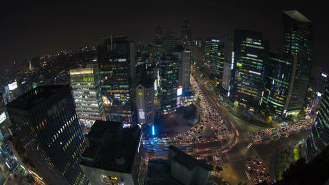 Seoul City 41 HD Stock Video Footage
