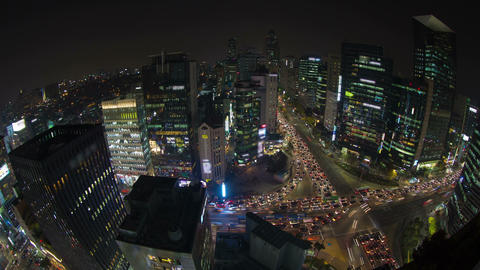 Seoul City 41 HD Footage