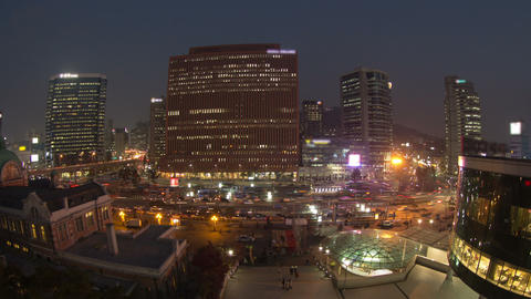 Seoul City 59 Zoom Footage