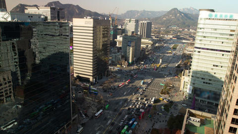 Seoul City 72 Stock Video Footage