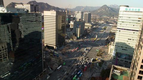 Seoul City 72 Stock Video Footage