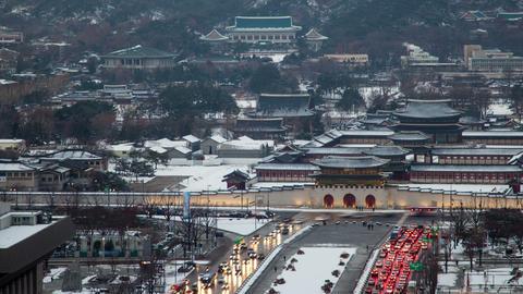 Seoul City 78 HD Stock Video Footage