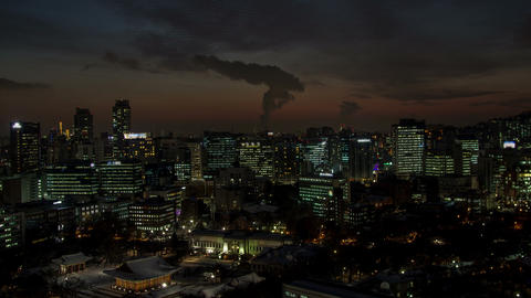 Seoul City 80 HD Stock Video Footage