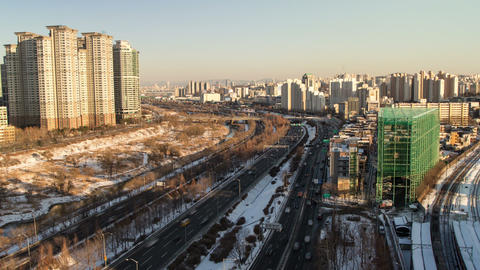Seoul City 102 Zoom Footage