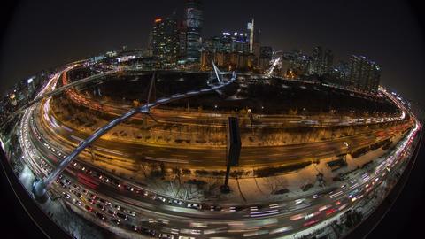 Seoul City 120 HD Stock Video Footage