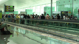 Barcelona Del Prat International Airport Catalonia Footage