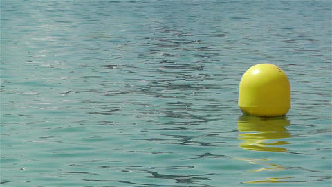 Buoy in the Water 2 Stock Video Footage